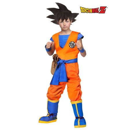 Dragon Ball Z Authentic Goku Kids Costume - Dbz Goku Costume