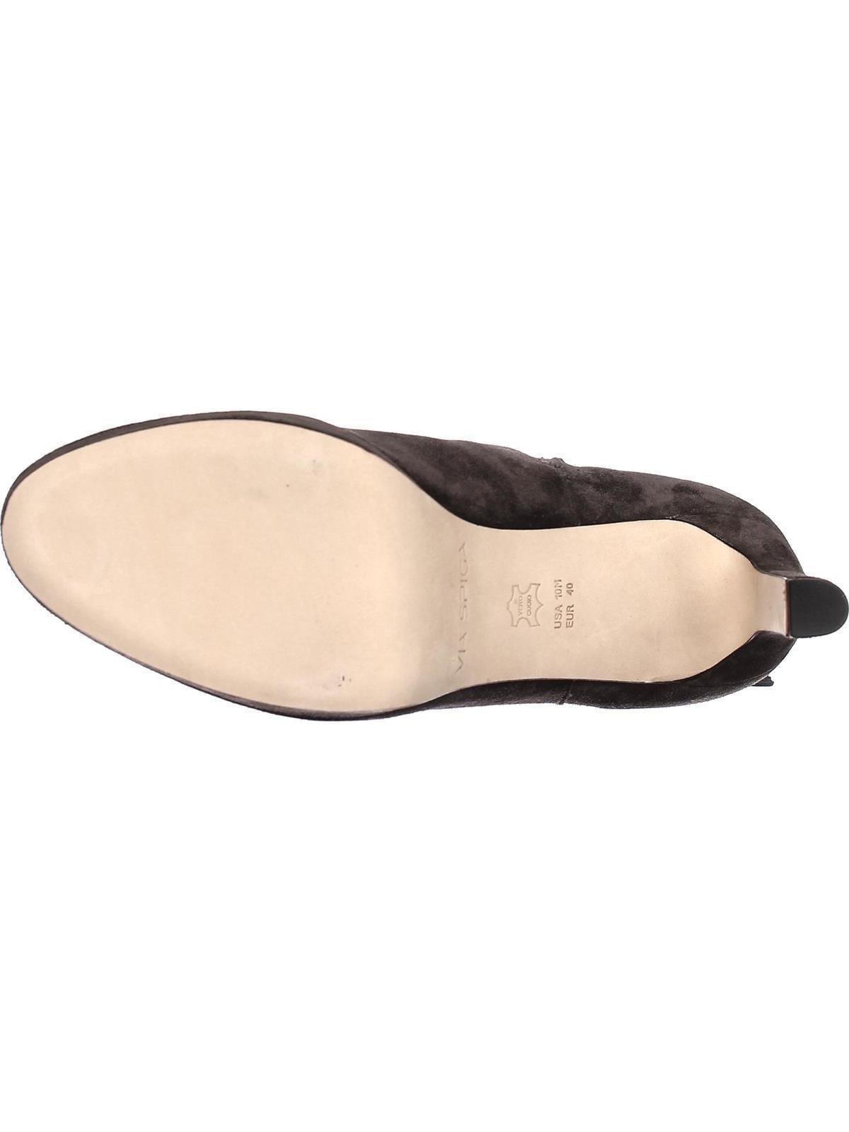 Womens On Via Spiga Bristol Pull On Womens Tassel Ankle Boots, Steel, 11 US / 41 EU 5085be