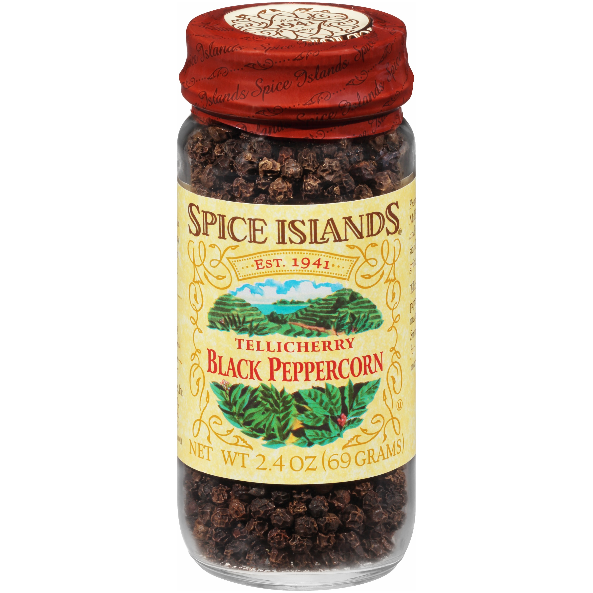 Spice Islands® Tellicherry Black Peppercorn 2.4 oz. Jar