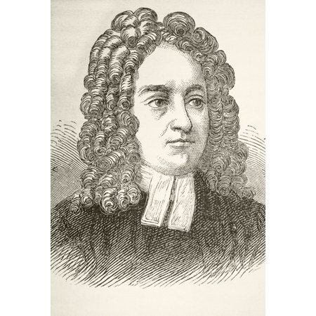 Jonathan Swift 1667 To 1745 Anglo Irish Author From The National And Domestic History Of England By William Aubrey Published London Circa 1890 Canvas Art - Ken Welsh  Design Pics (12 x 17)](Halloween History Pics)