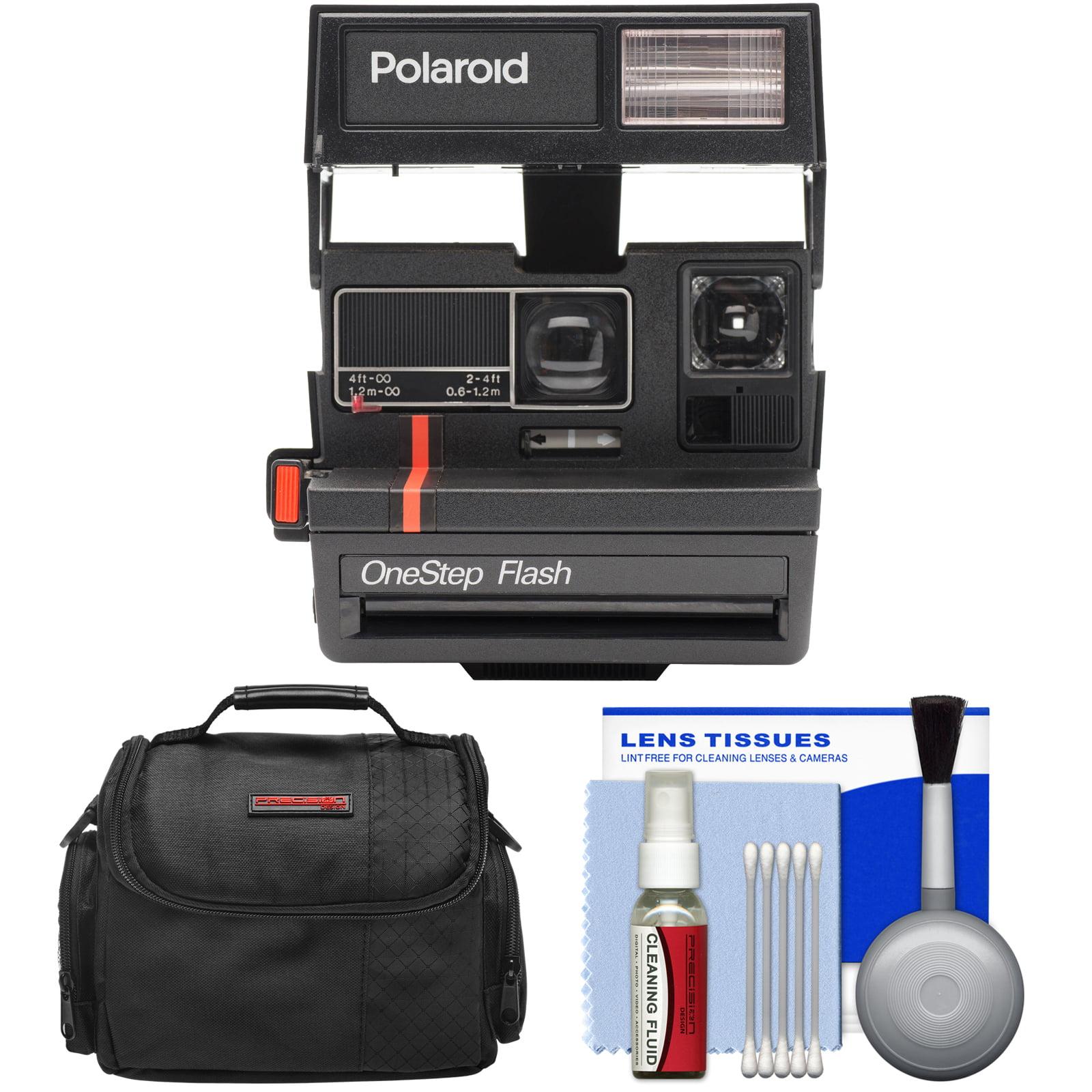 Impossible Polaroid 600 Square Instant Film Camera (RED S...