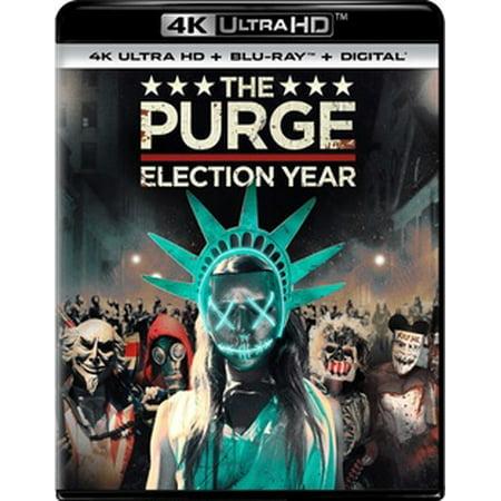 The Purge: Election Year (4K Ultra HD + Blu-ray + Digital Copy) - The Purge Couple
