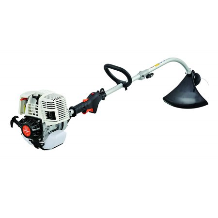 Sunseeker Gas 4-Cycle Curve Shaft Attachment Capable Grass Trimmer
