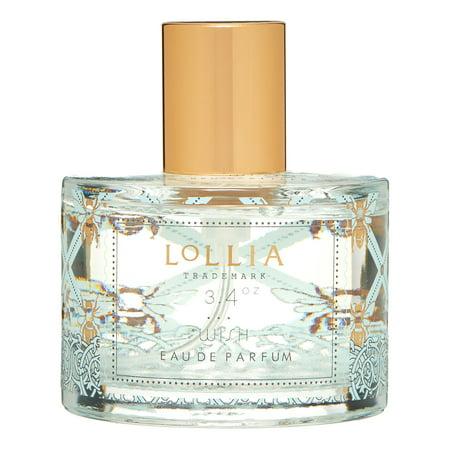 Lollia Wish Eau de Parfum -3.4oz/100ml (Lollia Petite Perfumed Luminary)
