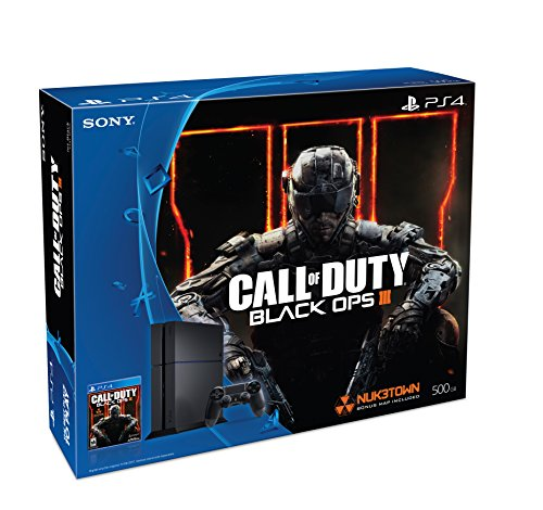 Sony PlayStation 4 500GB Bundle with Call of Duty Black O...