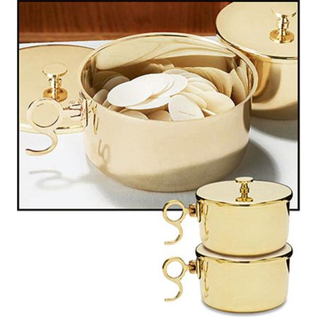 Stratford Farms (Stratford NS031 600 Host Brass Stacking Ciboria With Lid )