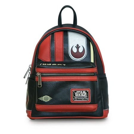 Loungefly Star Wars The Last Jedi Poe Dameron Mini Cosplay Backpack (Star Wars Cosplay For Sale)