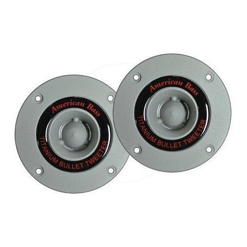 """American Bass MX251T 1"""" Compression Tweeters, 4Ohm, 150W Max, Sold in Pairs"""