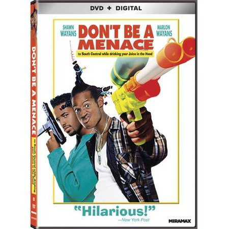 Don't Be A Menance To South Central While Drinking Your Juice In The Hood (DVD + Digital Copy) (Widescreen) From the creators of TV's  In Living Color , this outrageous comedy hit had critics and audiences roaring with laughter! From block parties and beepers to high tops and high-powered weapons, it's everything that's funny about growing up in the 'hood. the Wayans Brothers' neighborhood, that is! Marlon and Shawn (both from TV's  The Wayans Brothers ) and Keenen Ivory Wayans (TV's  In Living Color ) get together and deliver a good time, because there are plenty of laughs in this 'hood. Subtitles: English (Closed Captioned).