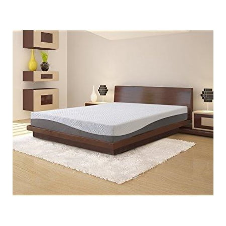 Olee Sleep 10 In Aquarius Memory Foam Mattress Full