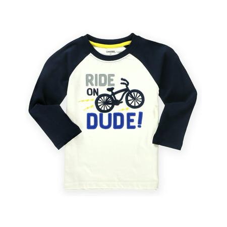 Gymboree Boys Ride On Embellished T Shirt