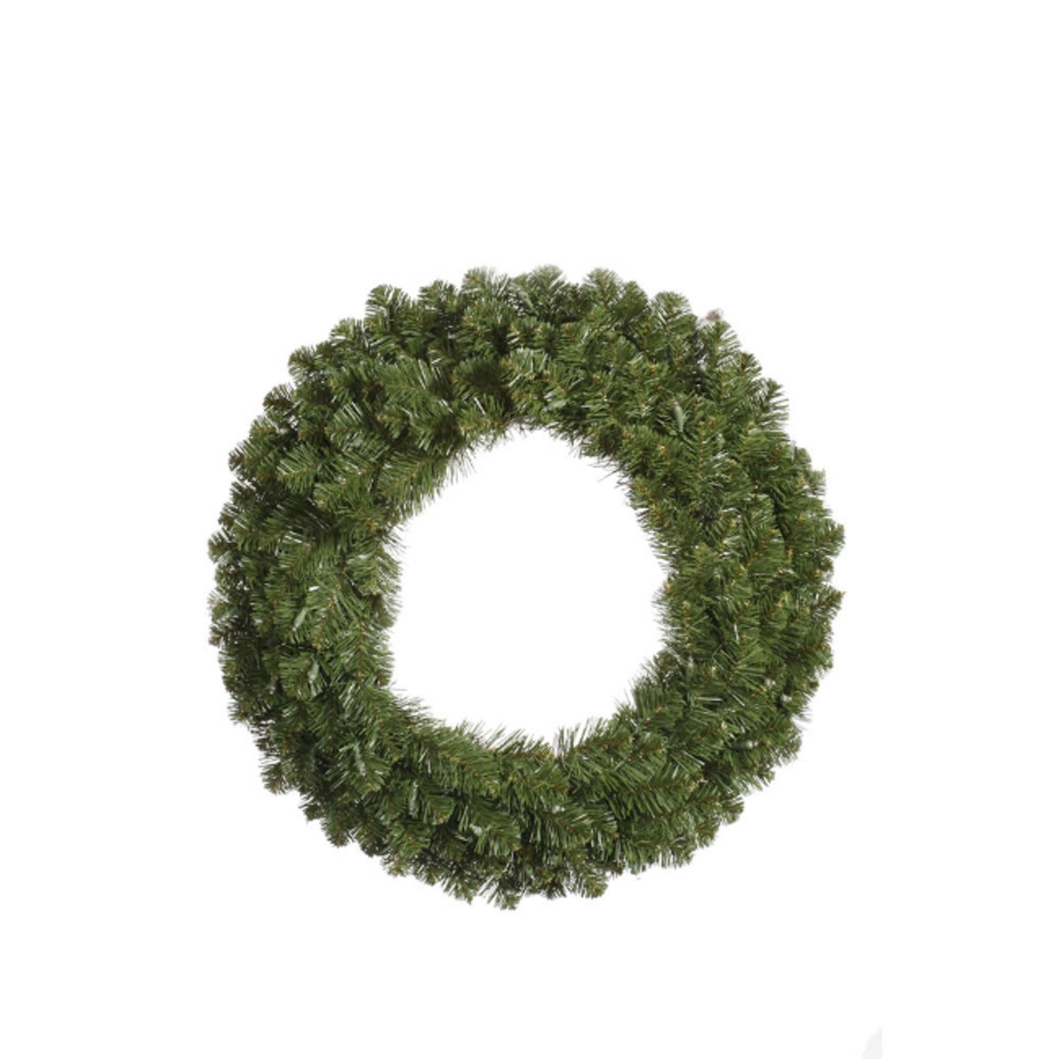 "60"" Double-Sided Grand Teton Commercial Artificial Christmas Wreath - Unlit"