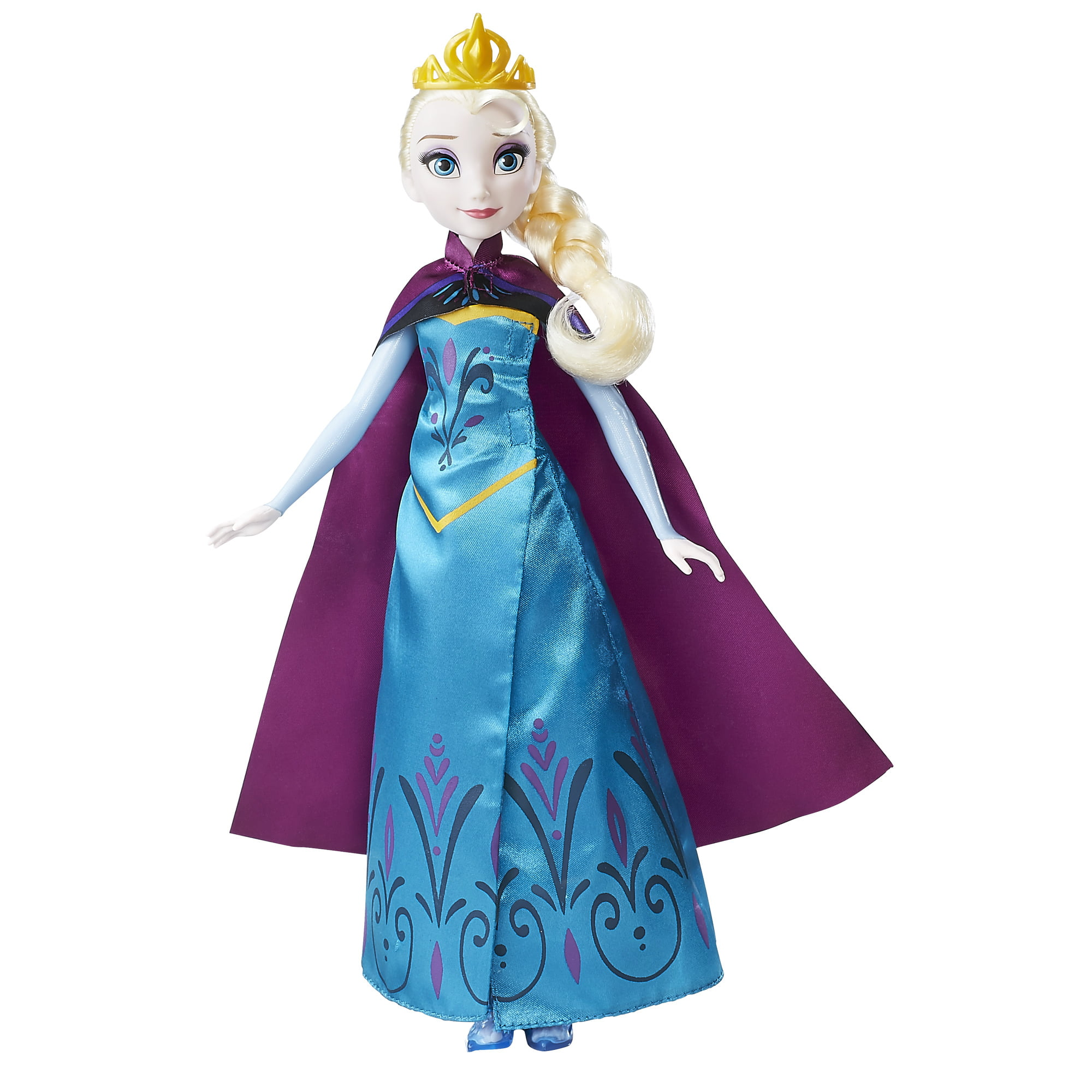 Disney Frozen Royal Reveal Elsa Doll by Hasbro Inc