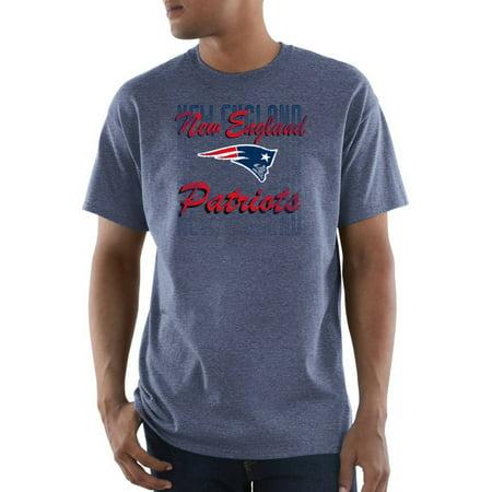 NFL New England Patriots Great Value Men's Short Sleeve Tee