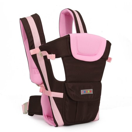 Lightweight All Carry Positions 4-Positions, 360° Ergonomic All Season Baby & Child Infant Toddler Newborn Carrier Backpack Front Back Wrap Rider Sling Soft & Breathable Cotton - image 5 of 13