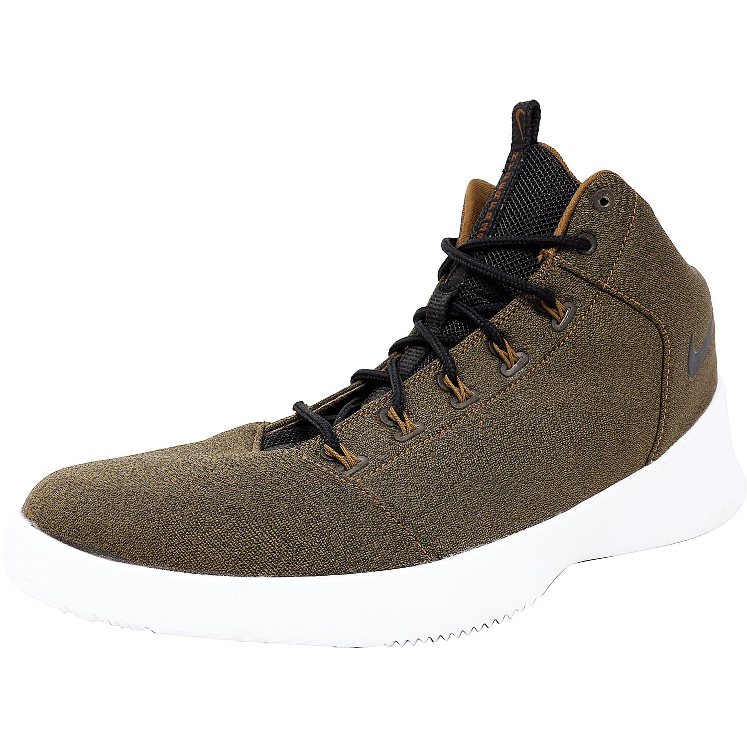 784df8315675 Nike Men s 759996 200 Ankle-High Fabric Basketball Shoe - 11.5M