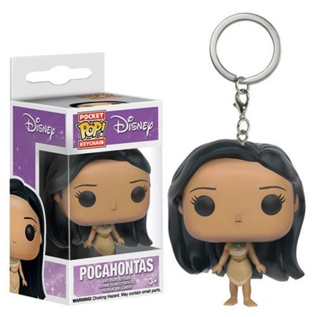 Pop! Vinyl Figure Key Chain, As you travel to new and exotic lands, remind yourself to paint with all the colors of the wind...or at least remind yourself.., By Pocahontas](Dressing Up As Pocahontas)