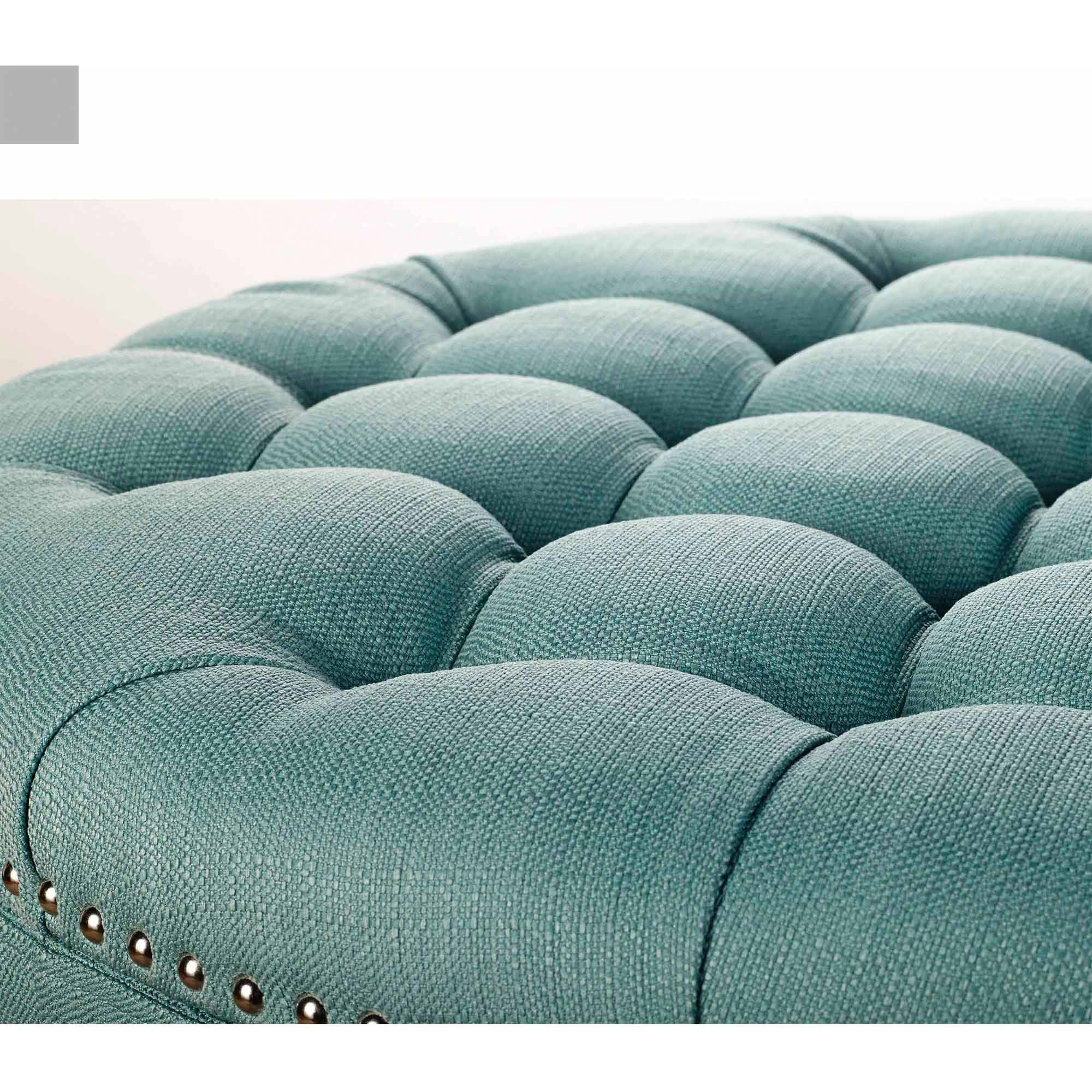 Fabulous Better Homes And Gardens Round Tufted Storage Ottoman With Andrewgaddart Wooden Chair Designs For Living Room Andrewgaddartcom