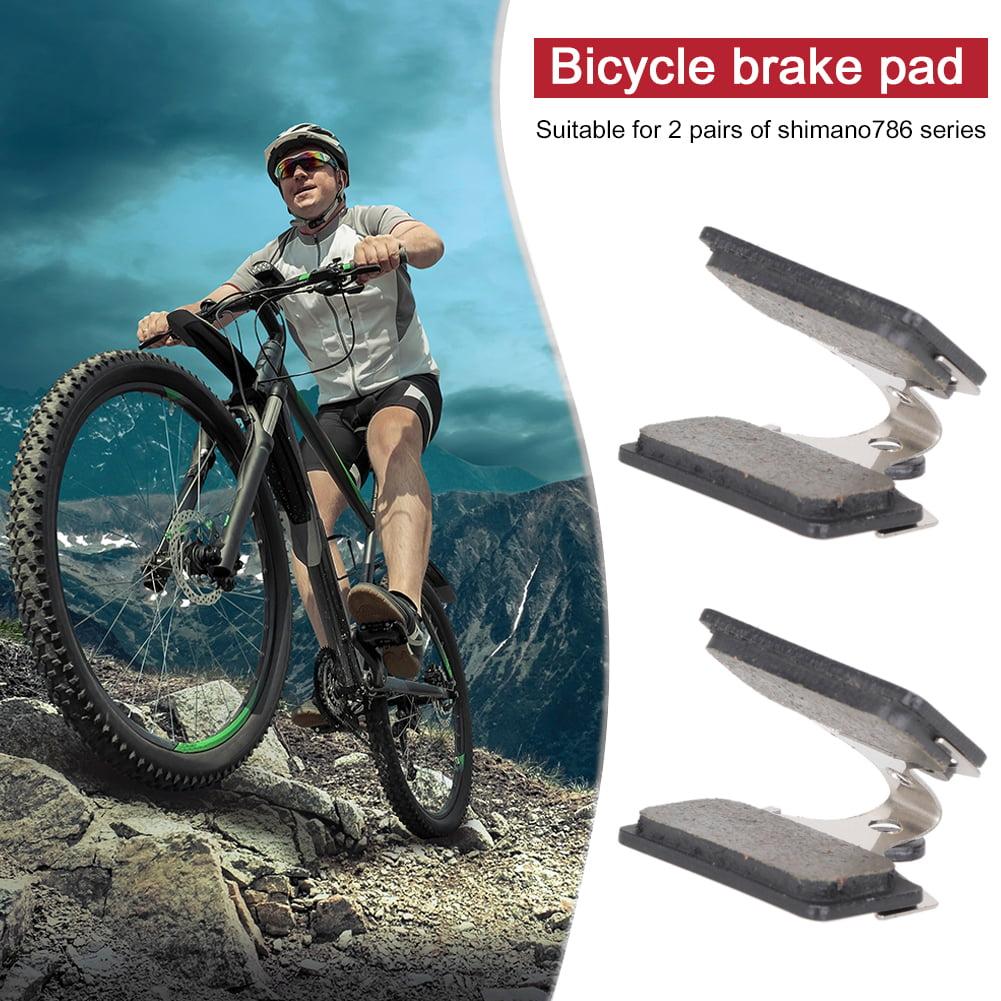 2 Pairs Bicycle Parts Bike Resin Disc Brake Pads for SHIMANO 786 Series
