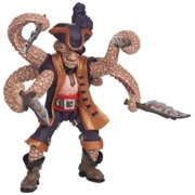Papo Octopus Mutant Pirate Toy