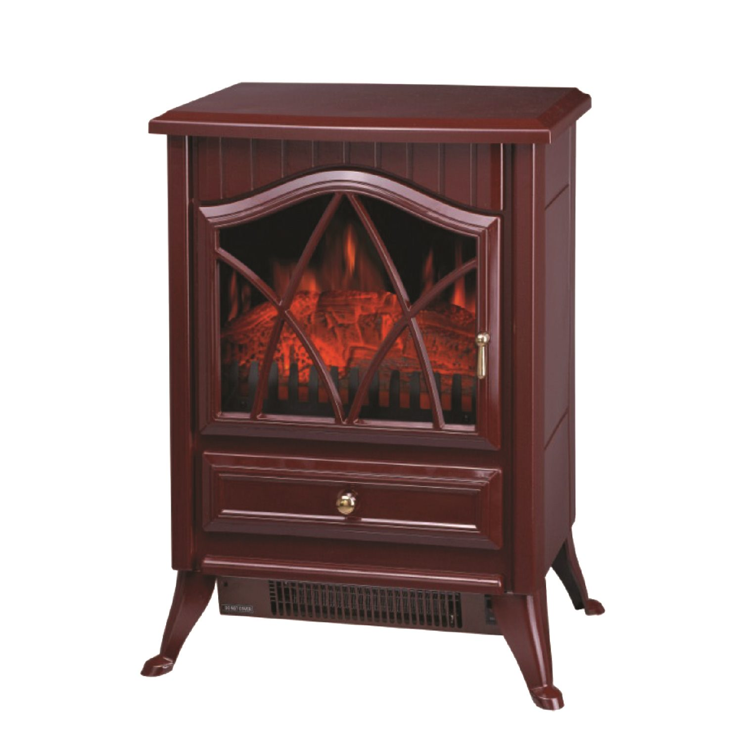 Comfort Glow Ashton Electric Stove, Red