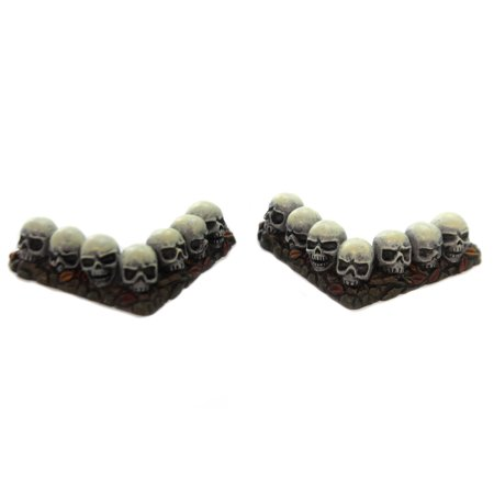 Department 56 Accessory ROW OF SKULLS CURVED Halloween Hedge Corner 6001747](Dept 56 Halloween Spooky Tree)