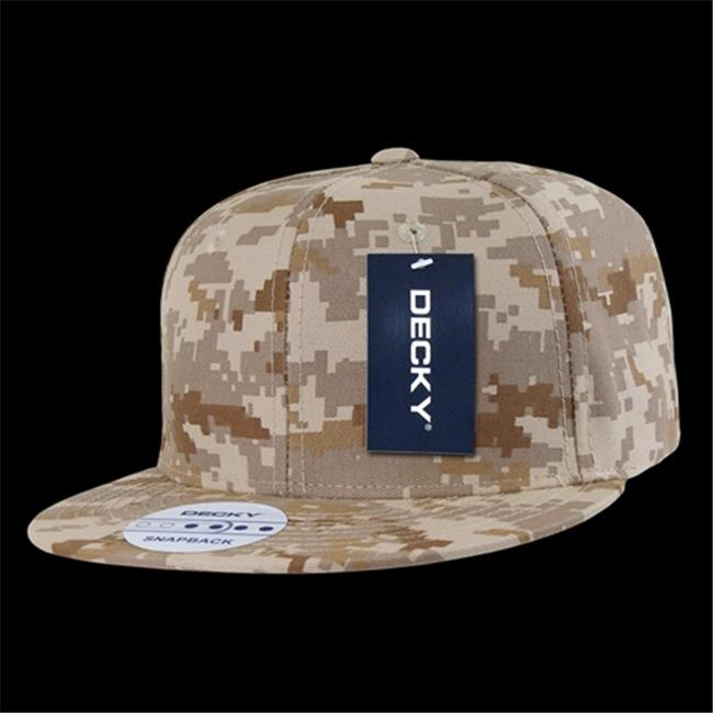 Decky 1047-DDD Digital Camo Snapback, Desert & Digital - image 1 of 1