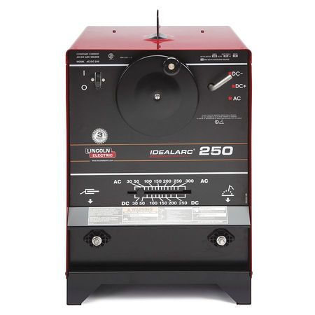 LINCOLN ELECTRIC Arc Welder,AC 35-300A,DC 40-250A Amps K1053-8