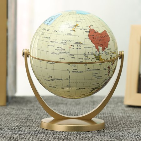 360° Rotating Globes Earth Ocean Globe World Geography Map Home Office Table Desktop Decor Knowledge ()