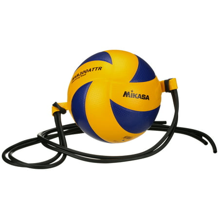 Mikasa Color - Mikasa FIVB Attack Trainer Indoor Volleyball with Tethers and Elastic Cords