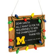 Michigan Wolverines Chalkboard Sign Ornament - No Size