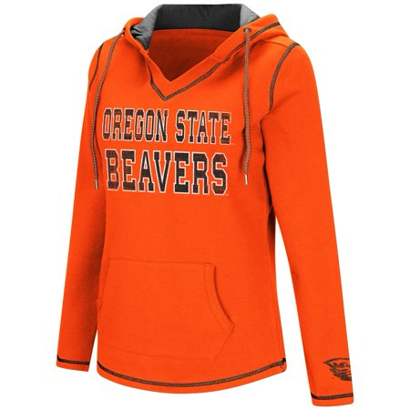 Colosseum Spike Oregon State Beavers Fleece Hoodie