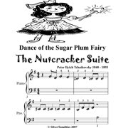Dance of the Sugar Plum Fairy the Nutcracker Suite Beginner Piano Sheet Music Tadpole Edition - eBook