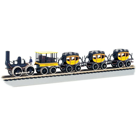 Bachmann Model Railroad - Bachmann Trains Dewitt Clinton HO Scale Ready-To-Run Electric Train Set