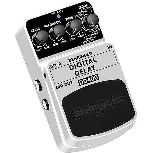 Behringer DD400 Digital Delay Guitar Effects Pedal