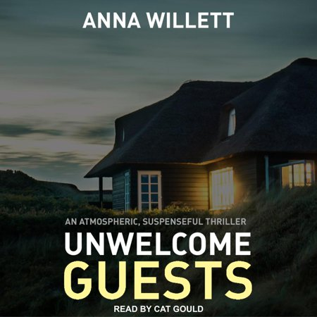 Unwelcome Guests - Audiobook A weekend getaway in an isolated country house is just what Caitlin needs to fix her relationship with husband Eli . . . Her spirits are up as they enter the spacious retreat and cool off in the nearby lake. With Eli's easy-going brother accompanying them-the party was his idea-the barbecue lit and beers cracked open, everything should be set for a perfect evening. But her husband is cold and dismissive so Caitlin decides to drown her sorrows, and heads into the wine cellar. What she finds there will change their lives forever. No peaceful sojourn from their daily worries, the house will stage an intense battle of wits: violent, claustrophobic, and cruel. The danger the small group are in will put their trust in one another to the ultimate test. The question is, will anyone get out alive?