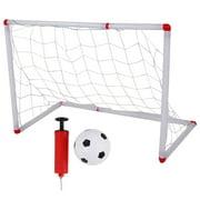 LYUMO Assemble Children Football Goal and Soccer Net Portable Outdoor Sport Kids Training Toy, Children Football Goal, Children Football
