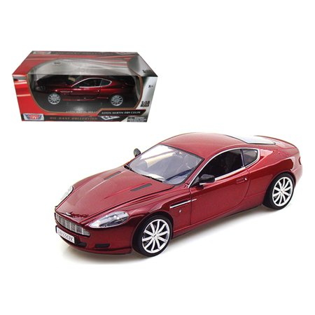 Aston Martin DB9 Coupe Burgundy 1/18 Diecast Car Model by