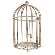 Established 98 Metal Decorative Bird Cage