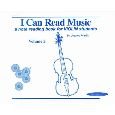 I Can Read Music  A Note Reading Book For Violin Students