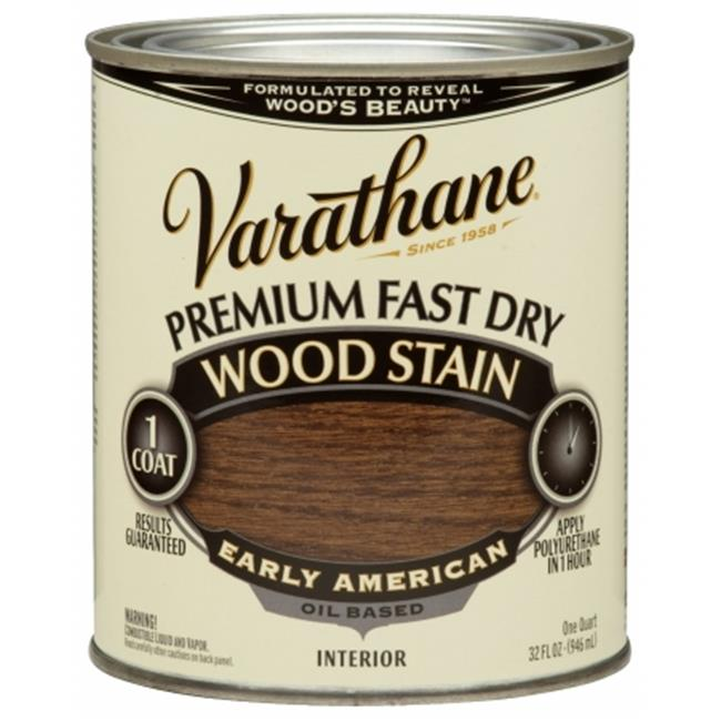 Varathane 262005 1 Quart Early American Fast Dry Wood Stain