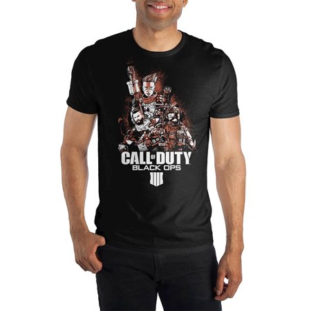 Call of Duty Black Ops 4 shirt Men's Character Poster Graphic