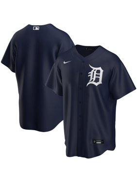 Detroit Tigers Nike Youth Alternate 2020 Replica Team Jersey - Navy