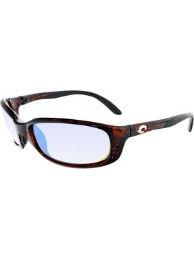 770c1eb061 Product Image Costa Del Mar Polarized Brine BR10GMGLP Brown Rectangle  Sunglasses