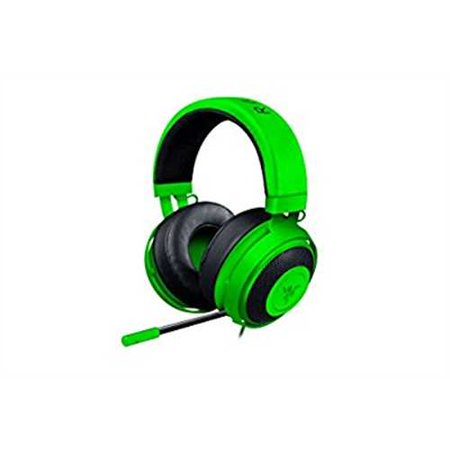 Refurbished Razer Kraken Pro V2 Analog Gaming Headset with Retractable Microphone for PC, Xbox One and Playstation 4, Green