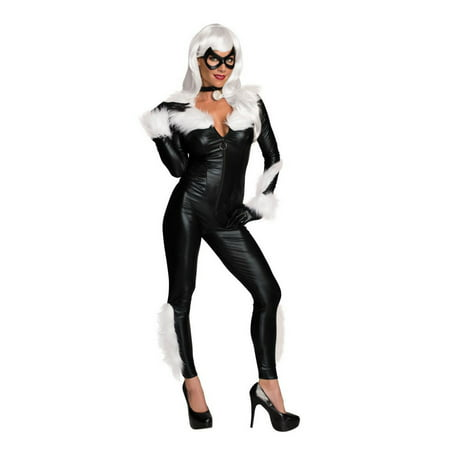 Halloween Marvel Women's Sassy Black Cat Costume Adult Costume
