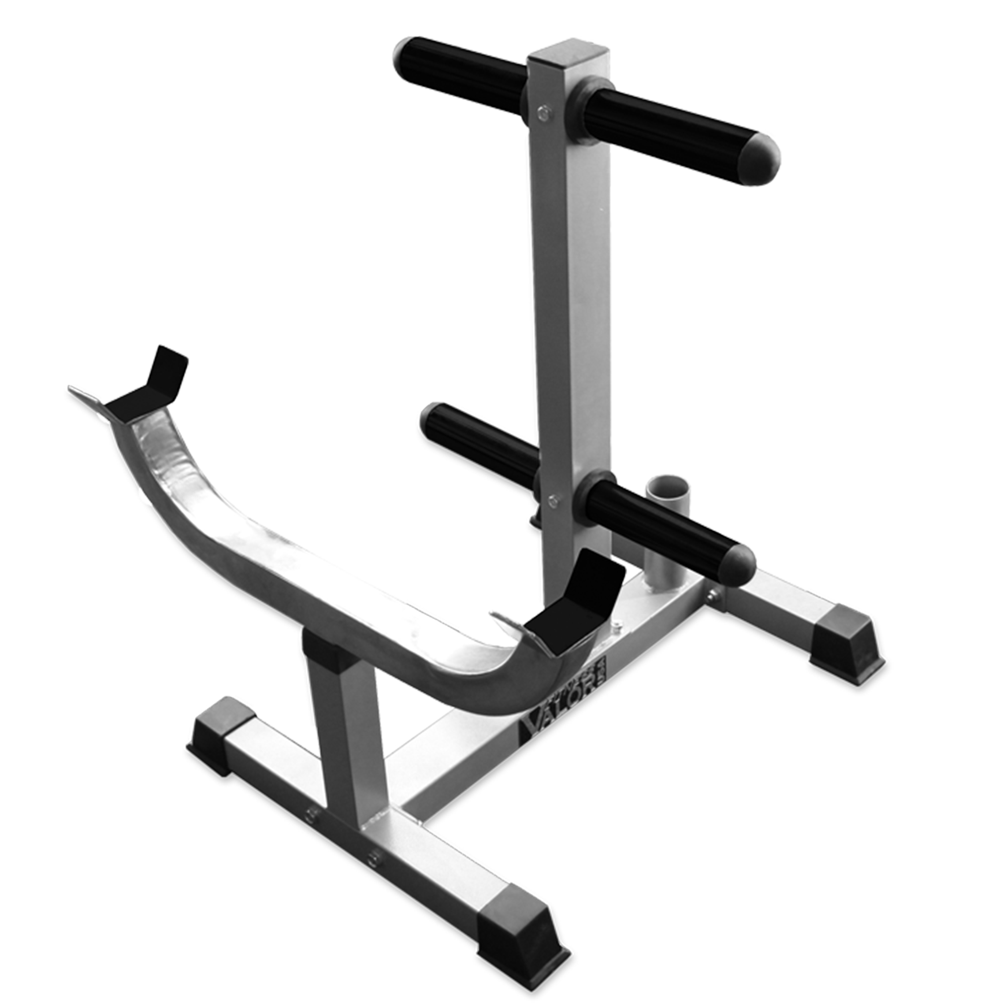 Valor Fitness CB-7 Curl Station Stand w Plate Storage