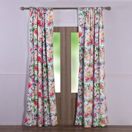 Blossom Window Panel Pair by Barefoot Bungalow