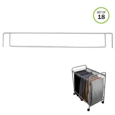 Evelots Pant Trolley Replacement Removable Pant Hangers, Trolley Sold