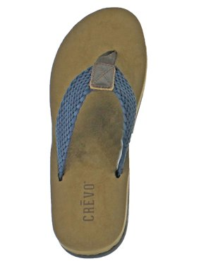 30a07b7e86ec2 Product Image Crevo Calabresas Men s Leather Braided Sandals Flip Flops